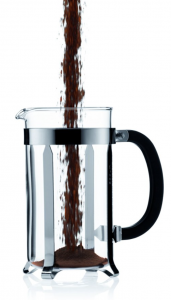 Bodum Chambord 8 cup French Press Coffee Maker - add coffee