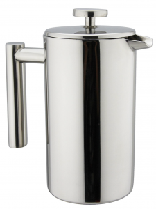 Kuissential 8-Cup Stainless Steel French Press - beautiful mirror design