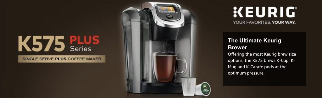 Keurig K575 Single Serve Programmable K-Cup Coffee Maker - ultimate brewer