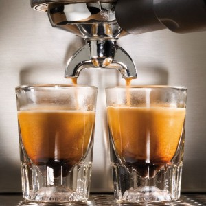 Gaggia 14101 Espresso Shots Close Up