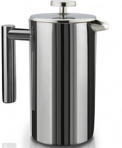SterlingPro Double Wall Stainless Steel French Press