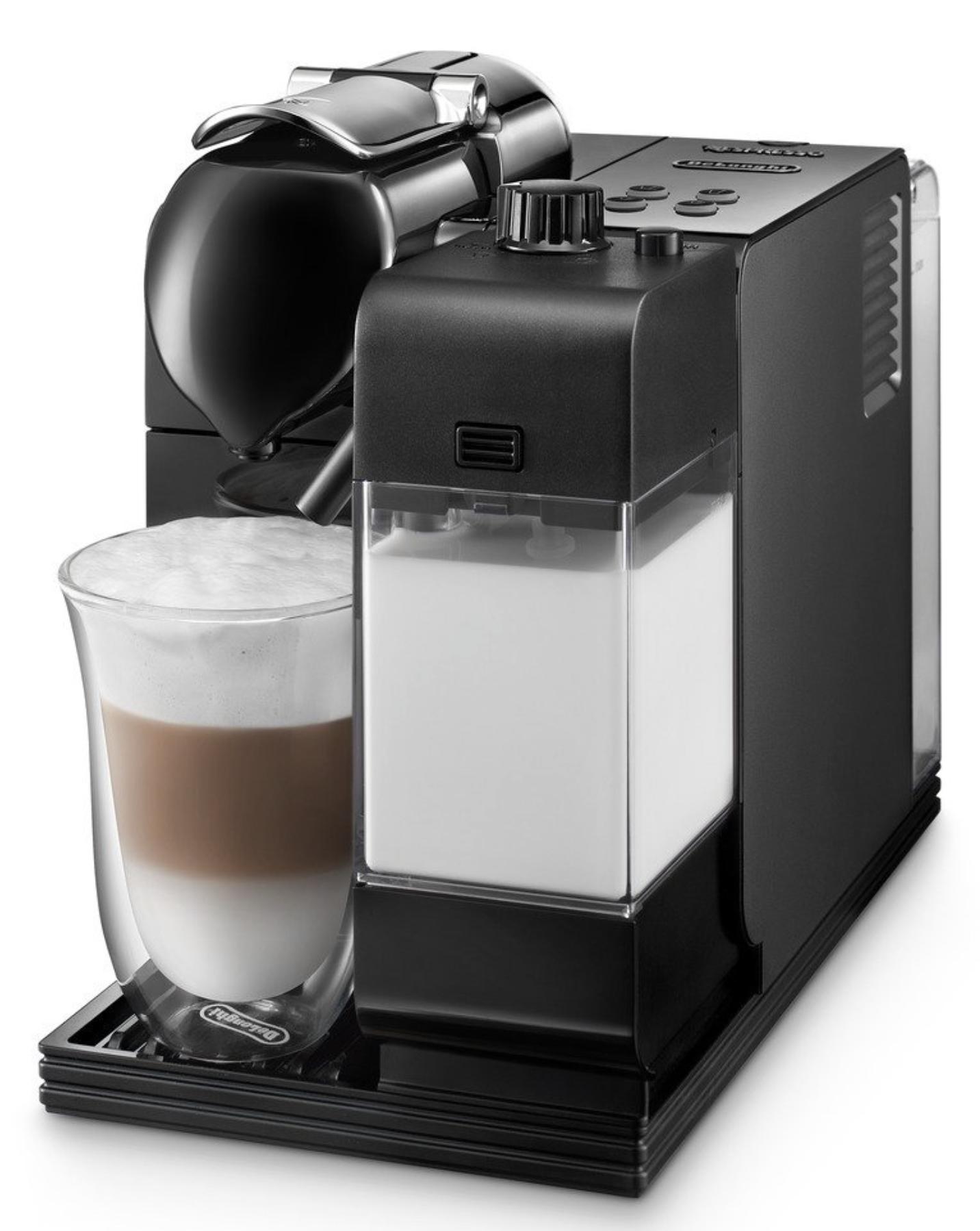 De Longhi Silver Lattissima Plus Nespresso Capsule System