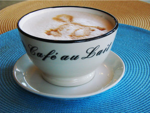 Caf au Lait coffee drink