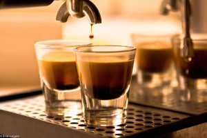 Two espresso cups under espresso machine.jpg