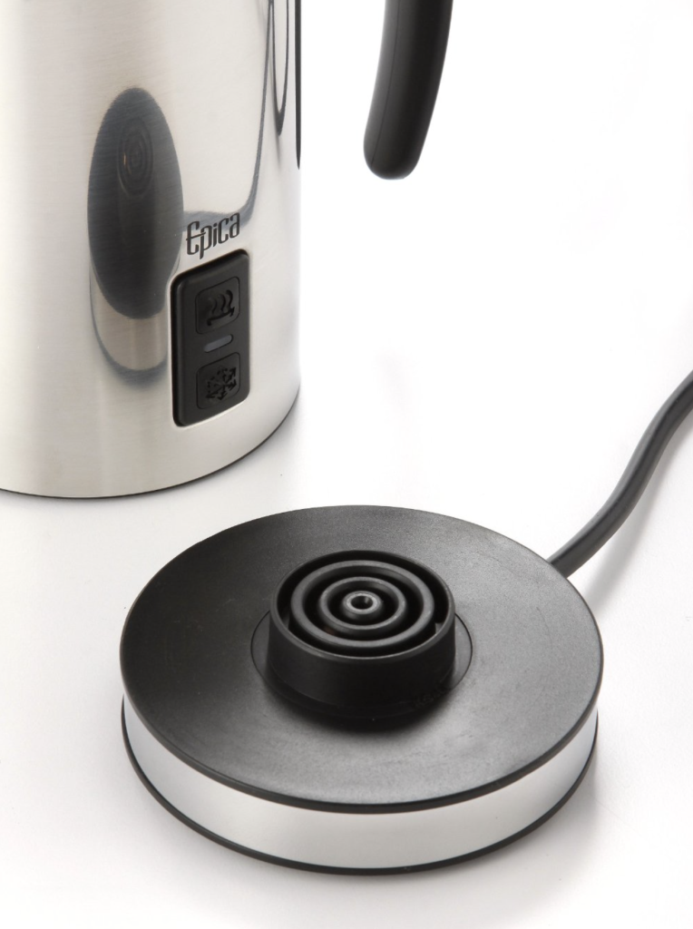 Epica Automatic Electric Milk Frother and Heater Carafe - easy to handle