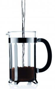 Bodum Chambord 8 cup French Press Coffee Maker - add water