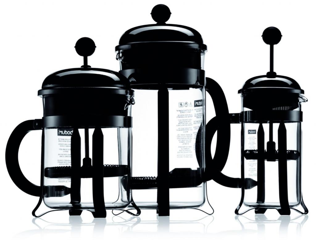 Bodum Chambord 8 cup French Press Coffee Maker - different sizes 12oz 17oz 34oz 51oz