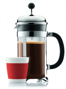 Bodum Chambord 8 cup French Press Coffee Maker - fresh coffee