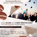 Brown's Quality Coffee Scholarship