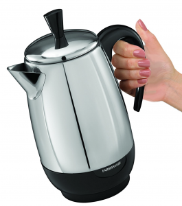 Farberware FCP280 8-Cup Stainless Steel Percolator Coffee Maker