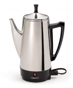 Presto 02811 12-Cup Stainless Steel Electric Percolator Coffee Maker